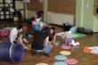 Cvičení maminek s dětmi