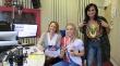 Patnáctiletá mistryně světa v aerobiku Marika Podlucká, trenérka Gabriela Bašková a Jana Kudyvejsová